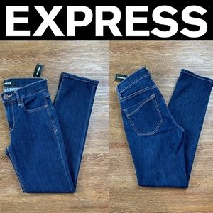 NEW EXPRESS MID RISE STRETCH SKINNY JEAN